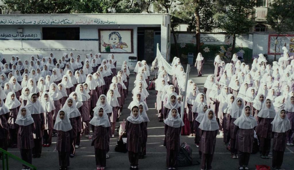 """Las niñas iraníes de """"Paradise"""" de Sina Ataeian Dena."""